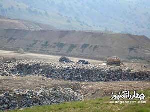 آشغالها مازندران را تهدید میکنند
